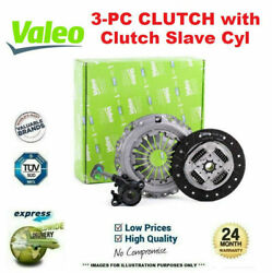 Valeo 3pc Csc Clutch Kit For Mercedes Benz C-class Coupe C180 2001-2002