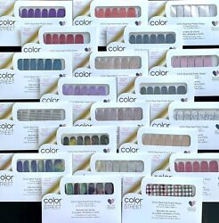Color Street Nail Polish Strips *NEW* *RETIRED* *HTF* *CURRENT* lot discount