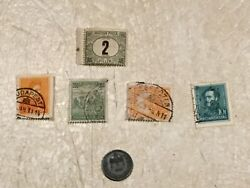 Hungary Coin Ww2 1943 2 Filler Stamp 5 Unc 2f 1903 1f 1926 10f 1926 200k 1926