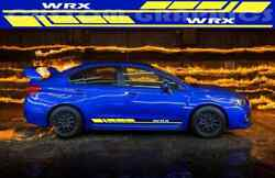 Vinyl Sticker Decal 2 Color Block Graphic Compatible With Impreza Wrx Man Gift