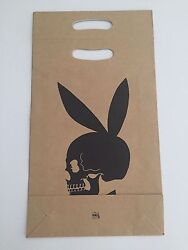 Richard , Learn To Read Art Bunny Skull On Brown Paper Bag, 1991