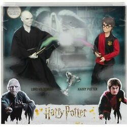 Harry Potter And Voldemort Triwizard Cup. Brand New Collector Dolls Nrfb Mattel