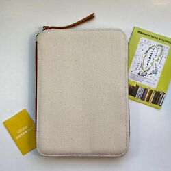 Hobonichi Techo A5 Planner Cover Organizer Zip Closure New Open box 2017 Edition $97.50