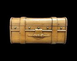 Miniature Trunk By Asprey Of London Extremely Fine Quality Ca. 1900 - 1920