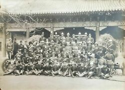 China Beijing Eight Nations Alliance Officers Photograph Boxers Asia 1905