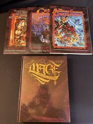 White Wolf Mage The Ascension Sorcerers Crusade Lot - 4 Books Total
