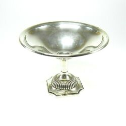 Vintage Reed And Barton Sterling Silver Compote Footed Candy Nut Dish Bowl 34