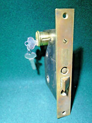 Sargent 6745 Entry Mortise Lock W/cylinder And Keys 2 3/4bs 13972