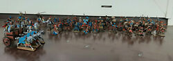 1/72 Painted Spartans Vs Persians 54 Fig. + Persian Cavalry 8 + Chariot