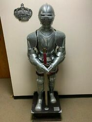 Medieval Spanish Suit Of Armor Authentic Replica Etched Armor Ii