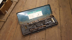 Partial Socket Set 8mm - 22mm And 9/16 - 13/16 36644