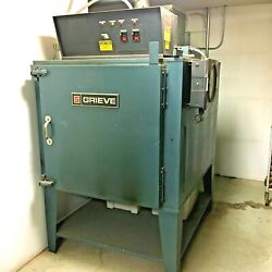 Grieve Ag-500 Industrial Batch Oven380 Degrees F. Max Temp 230v 3-phase 52a