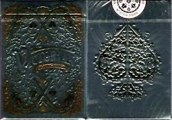 Victorian Pearl Playing Cards Poker Size Deck Npcc Custom Limited Sealed New