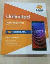 Coolpad Legacy - 32gb - Medieval Gray Boost Mobile Free Gift + Free Ship