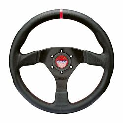 Sparco Italy R383 Champion Leather Steering Wheel Black Eu