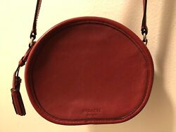 COACH Red Leather Crossbody Bag $57.00