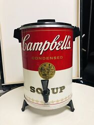 Vintage Campbells Soup 30 Cup West Bend Coffee Urn Percolator