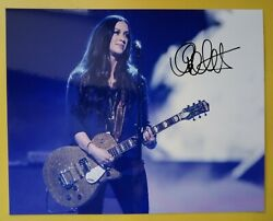 Alanis Morissette Hand Signed 10 X 8 Photo Autograph Singer Songwriter And Actress