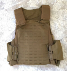 First Spear Sloucher 6/12 Tubes L Coyote Tan Low Vis Armor Plate Carrier New