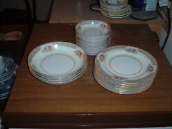 20 Piece Lot Of Aichi China Made In Occupied Japan Bowl And Plates