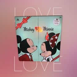 Mickey And Minnie Mouse Limited Edition Valentine's Day Doll Set ❤️❤️ New 2956