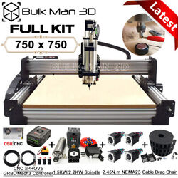 7575 Work-bee Cnc Router Machine 4 Axis Wood Cnc Engraving Milling Machine Kit