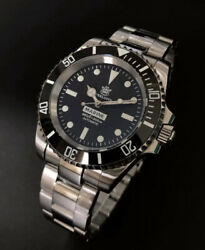 Steeldive Sd1954m Submariner | Automatic 200m Diver Watch