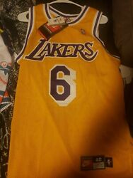 Nike Eddie Jones Authentic La Lakers Jersey 40 Brand New With Tags Bnwt 🔥🔥🔥