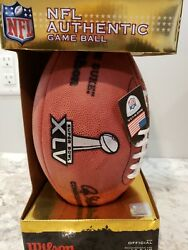 Wilson Official Super Bowl 45 With Score Football