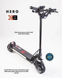 Hero X8 Electric Scooter Dual Motor Nutt Hydraulic Brakes Booster Rev Killer Hot
