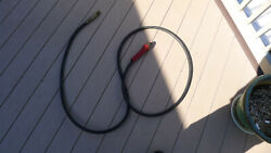 Near 12 Ft. 3/8 -100mm Dot Gy Air Brake Hose With Extra Fittings, Tectran,
