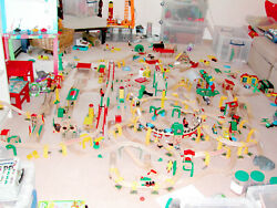 01 Truly Vast Genuine Brio Train Set Collection Andpound3000+ New - Nil Counterfeit