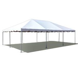20and039 X 30and039 Pvc Weekender West Coast Frame Tent - White - Party Event Backyard