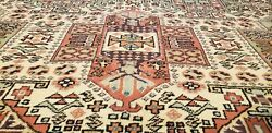 Exquisite 1900-1939and039s Antiquemuted Colors Legendary Hereke Rug 7x10ft