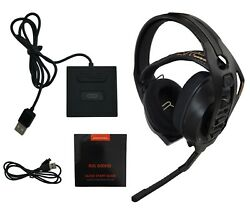 Plantronics Rig 800hd Wireless Gaming Headset Usb Base For Pc Computer And Mac Os