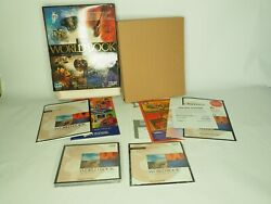 The World Book Encyclopedia Set 1998 Multimedia Deluxe Edition Vintage Software