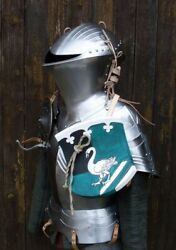 Medieval Jousting Armor Suit Half Body Armor Full Battle Costume Rider Style