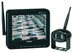Voyager Wvos541 Four Camera Enabled Digital Wireless Observation System With Lcd