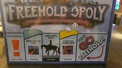 Freehold-opoly Nj Bruce Springsteen Monopoly Nib New Jersey Rare.