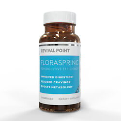 Revival Point Floraspring For Digestive Efficiency 30 Capsules - New Exp 2/2023