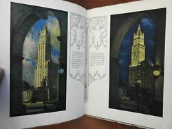 Woolworth Building New York City 1916 Art Deco Advertising Photograph Brochure
