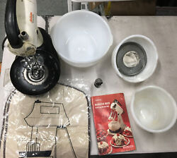 Vintage 1948 Sunbeam Mixmaster Electric Kitchen Mixer Model 9 With Extras