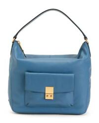 new w tags COLE HAAN Leather Allanna hobo blue Bag $180.00
