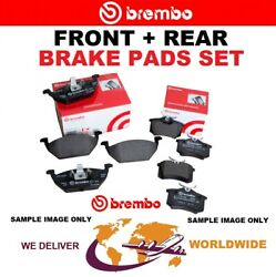 Brembo Front + Rear Brake Pads For Mercedes Benz Slr 5.4 722 Edition 2006-on