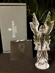 Waterford Crystal Nativity Celestial Angel Of Light Figurine / Sculpture New