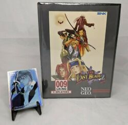 The Last Blade 2 Collectorand039s Edition + Trading Card 122 Sony Ps4 Neogeo Box
