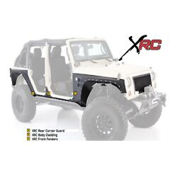 Smittybilt Xrc Body Cladding W/ Front Fenders And Rear Corner Guards For Jeep Jk