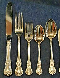 Towle Old Master Sterling Set For 4 By 5 Super Shape Ready To Use