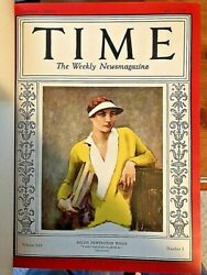 July 1, 1929 To December 30, 1929 Time Magazine Bound Nm-mt Condition Rare