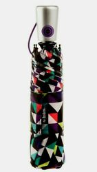 ISOTONER TOTES NeverWet FULLY AUTOMATIC COMPACT UMBRELLA 43quot; COVER NO DRIP NWT $19.49